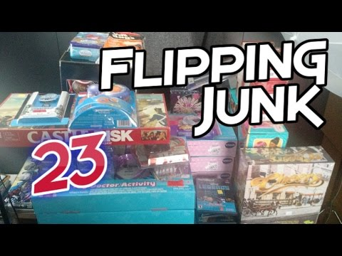 Flipping Junk [23] More Stuff From Goodwill to Sell on eBay and Amazon