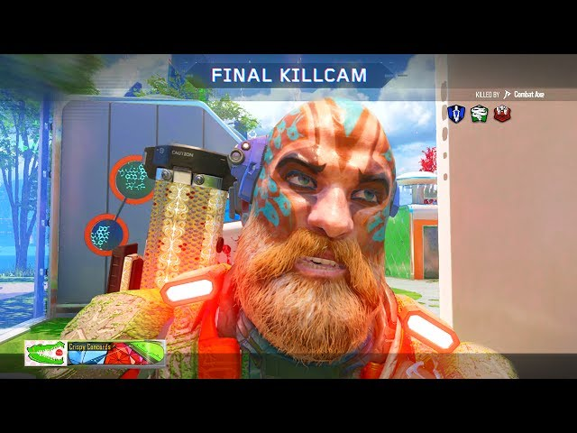Black Ops 3 - Crispy Killcams #9 (Lucky Combat Axe Kill, Funny Fails, Epic Trickshots!)
