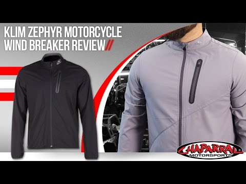 Klim Zephyr Motorcycle Wind Breaker Review