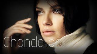 """Adriana Lima """"Chandelier"""""""