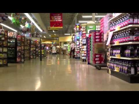 USA American Grocery Store Las Vegas Nevada VONS time-lapes