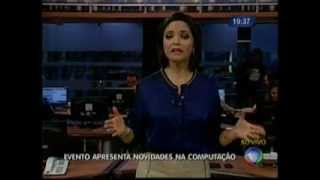 Matéria na Record sobre a BrazilJS 2014