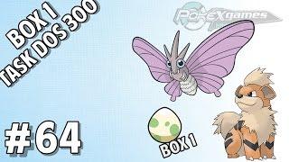 POKEXGAMES #64 - Box 1 / Growlithe & Venomoth / Dungeon !
