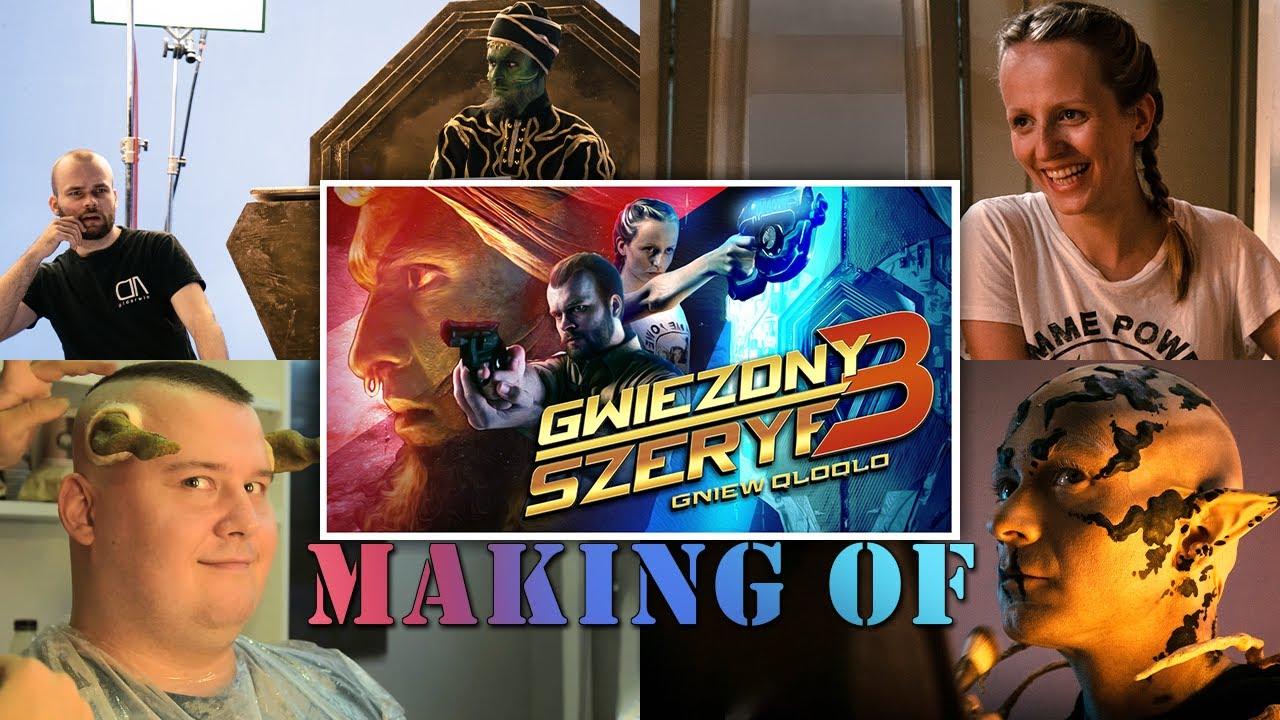 MAKING OF Gwiezdny Szeryf 3