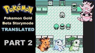 Pokemon Gold Beta Translated: Story Mode Part 2
