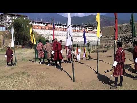 The World: Archery in Bhutan