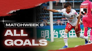 All J1 League Goals | Matchweek 8 | 2020 | J.LEAGUE