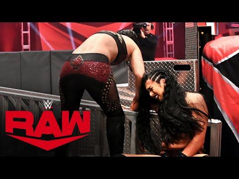 Shayna Baszler smashes Indi Hartwell's arm: Raw, April 20, 2020
