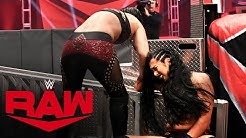 Shayna Baszler smashes Indi Hartwell's arm: Raw, April 20, 2020