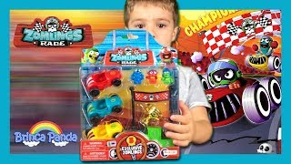 Zomlings Race Unboxing Serie 5 2017