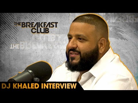 DJ Khaled Interview With The Breakfast Club (7-29-16)
