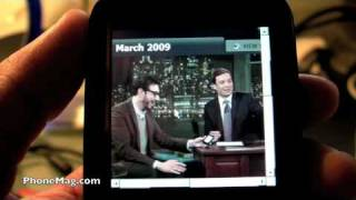 Sprint Treo Pro Internet Explorer 6 and FlashLite demo