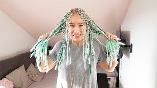 Ich mache meine Haare BLAU!