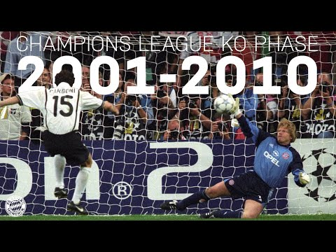ALL GOALS & GAMES from the Champions League Knockout Phase 2001-2010 | FC Bayern