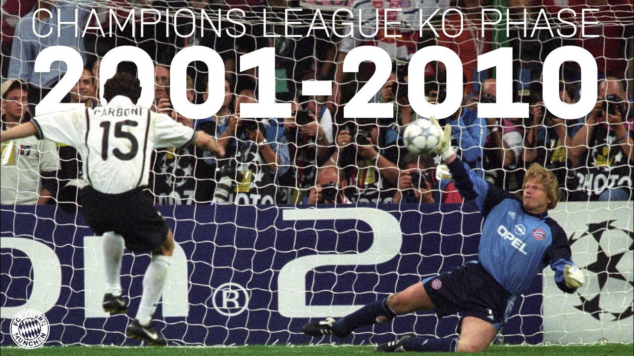 Champions League Knockout Phase 2001-2010