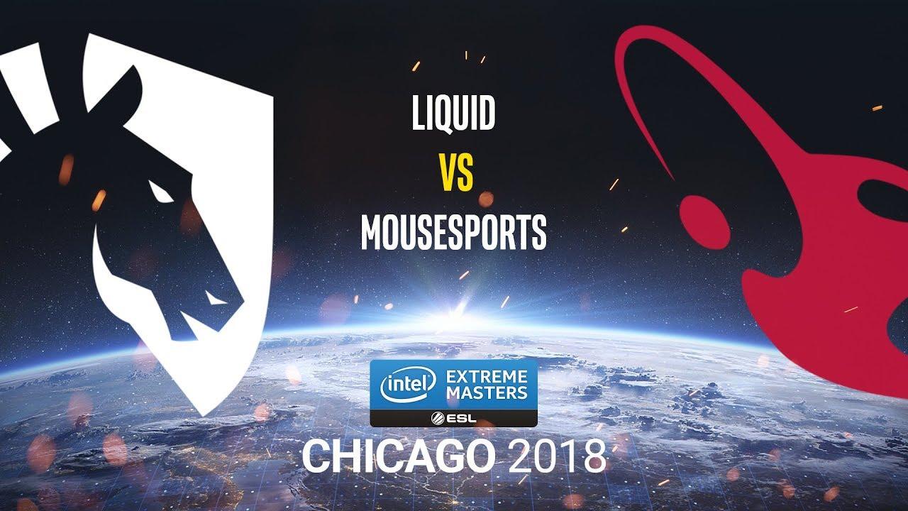 Liquid Vs Mousesports