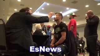 Dr. Makes Sure Lomachenmo Is Human! esnews boxing