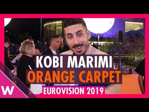 Kobi Marimi (Israel) @ Eurovision 2019 Red / Orange Carpet Opening Ceremony