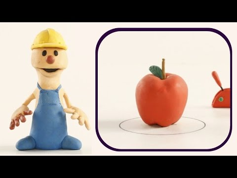 Apple | PLAY To CLAY with JAMES | Muffin Songs Kindergarten