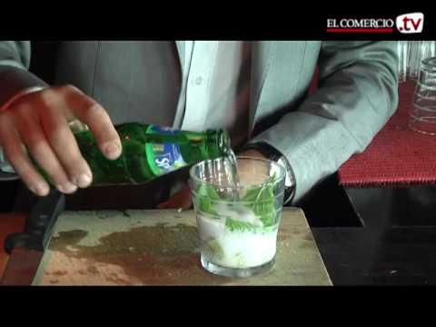 Coctel Mojito - Sergio Cosío (Pub Bombay)