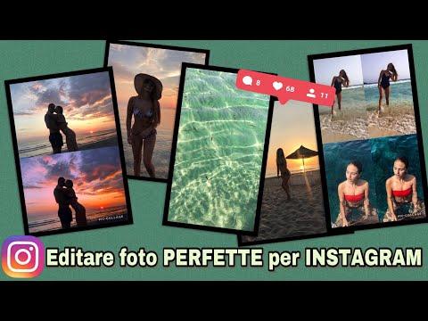 Editare Foto PERFETTE Per INSTAGRAM || Modificare Foto Vacanze Come Gli INFLUENCER! 📸🌅💁🏼♀️