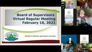 February 16 2021 Upper Providence BOS