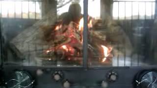Fireplace Insert Fireback Grate Heater Furnace Heat Exchanger Heatilator Fire Rack