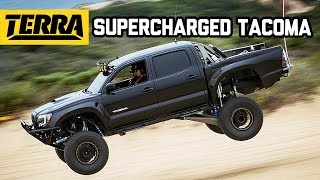 BUILT TO DESTROY: Supercharged Toyota Tacoma Prerunner!