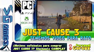 ¿Motivos suficientes para comprar JUST CAUSE 3? Alucinante GAMEPLAY
