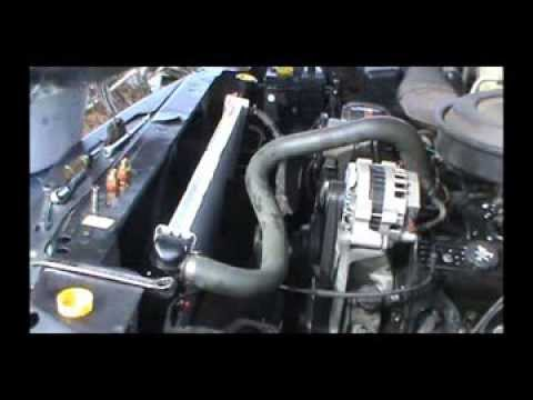 2000 S10 Abs Wiring Diagram 1993 Chevy Silverado Radiator Replacement Youtube