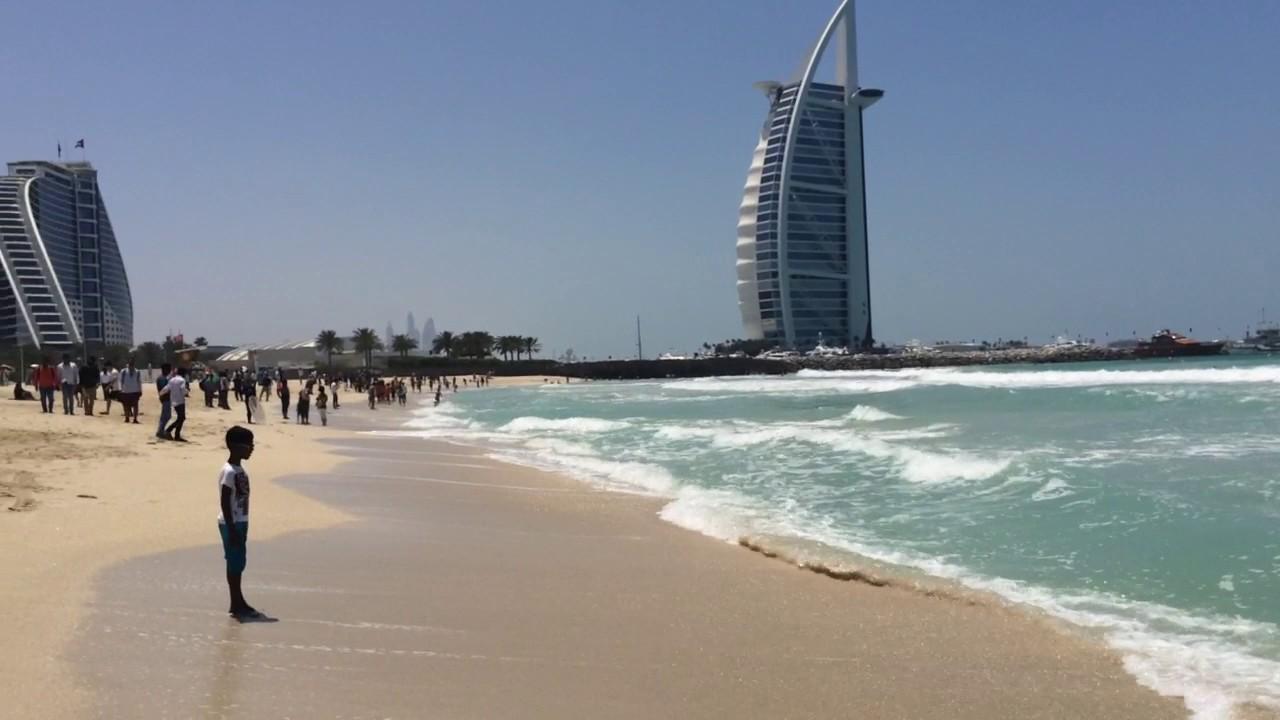 Dubai April 2017 Jumeirah Public Beach