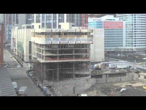 Power Construction | Top Down High-Rise Construction | ParkView Condominiums