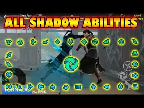 Shadow fight 3 all shadow abilities (last version + sub)√