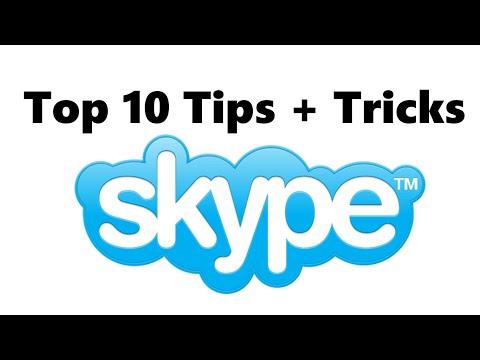 Top 10 Skype Tips + Tricks || Must Know [Muskie]