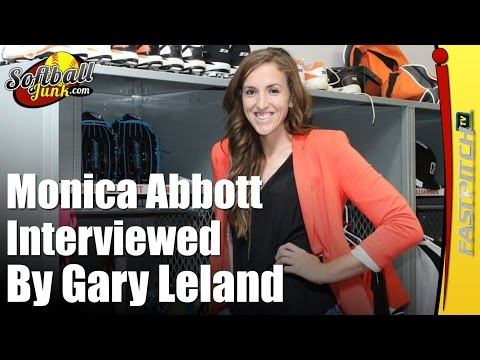 Monica Abbott Interviewed By Gary Leland l Fastpitch TV