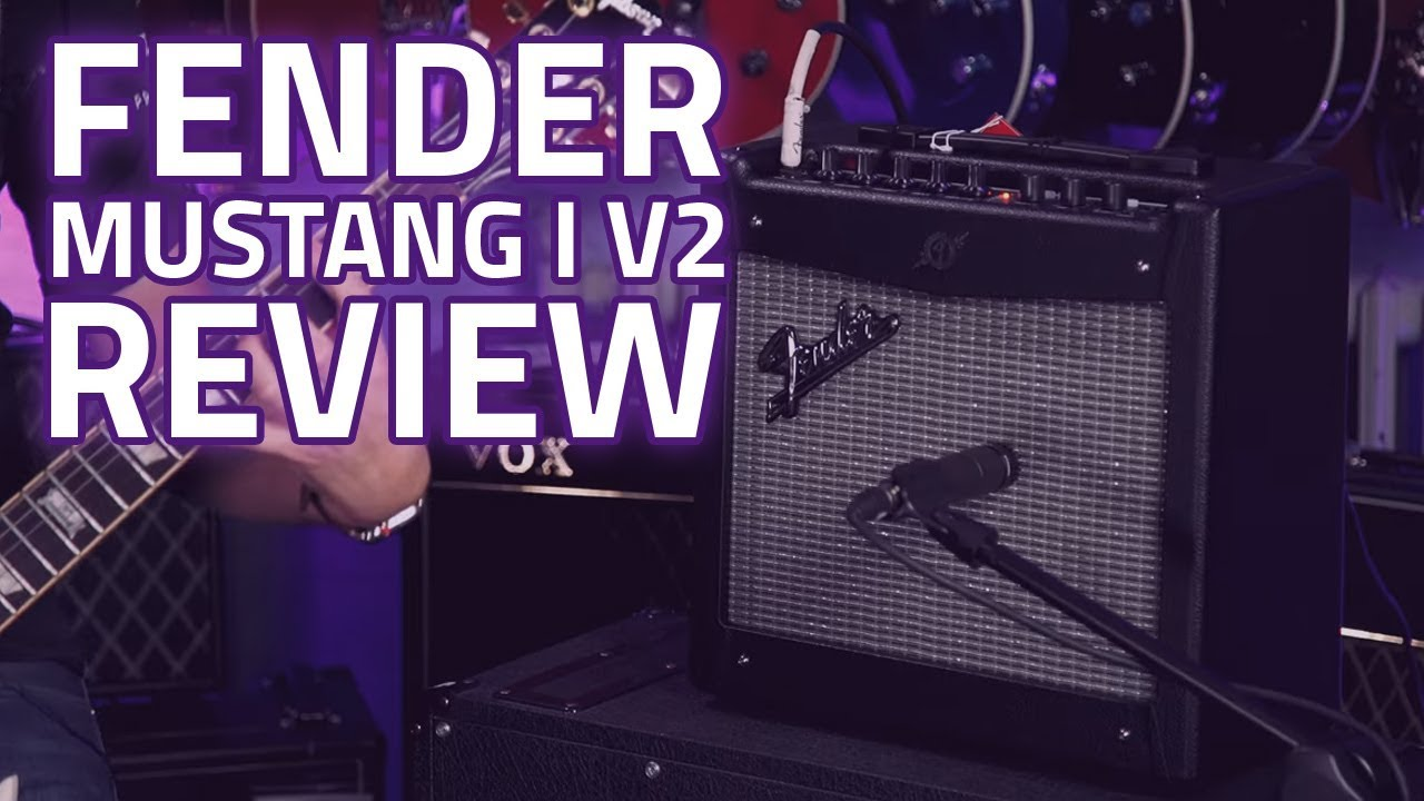 Fender Mustang 1 V2 >> Fender Mustang I V2 Guitar Amplifier Combo Demo Review ...