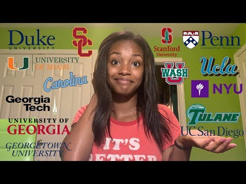 COLLEGE DECISION REACTIONS