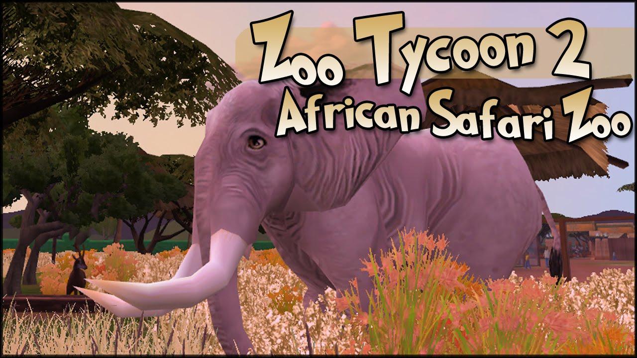 Zoo Tycoon 2 || African Bush Elephants - Episode #13 || World Zoo Season 2
