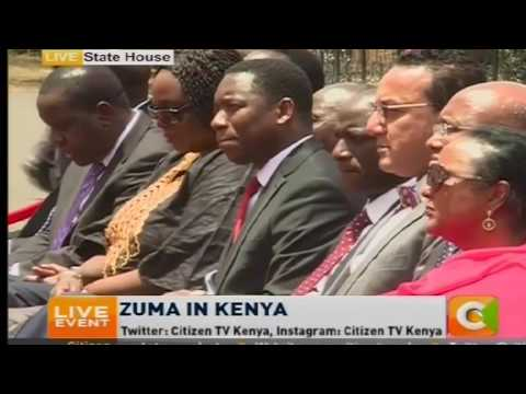 Kenya and South Africa to join forces against terror