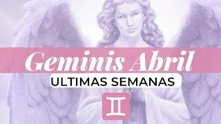 Geminis Abril 15-30  ♊🔮  Viene Comunicacion 💘 Nuevo Amor