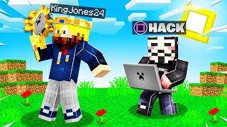 Pranking as a YOUTUBE HACKER in Minecraft! (PROJECT ZORGO)