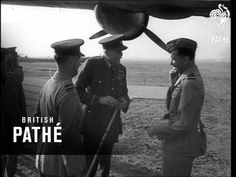 Lord Trenchard In Middle East - 1943 (1943)