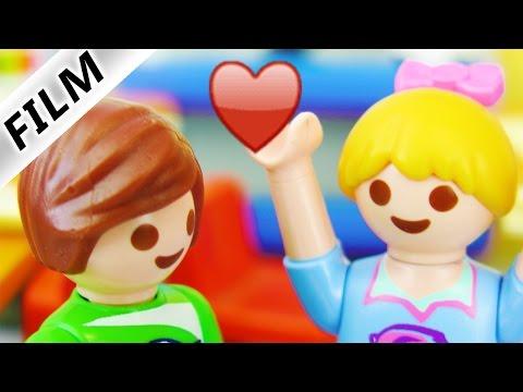 Playmobil Film Deutsch - NEUER SCHÜLER IN HANNAH VERLIEBT? WAS IST MIT DAVE? Familie Vogel