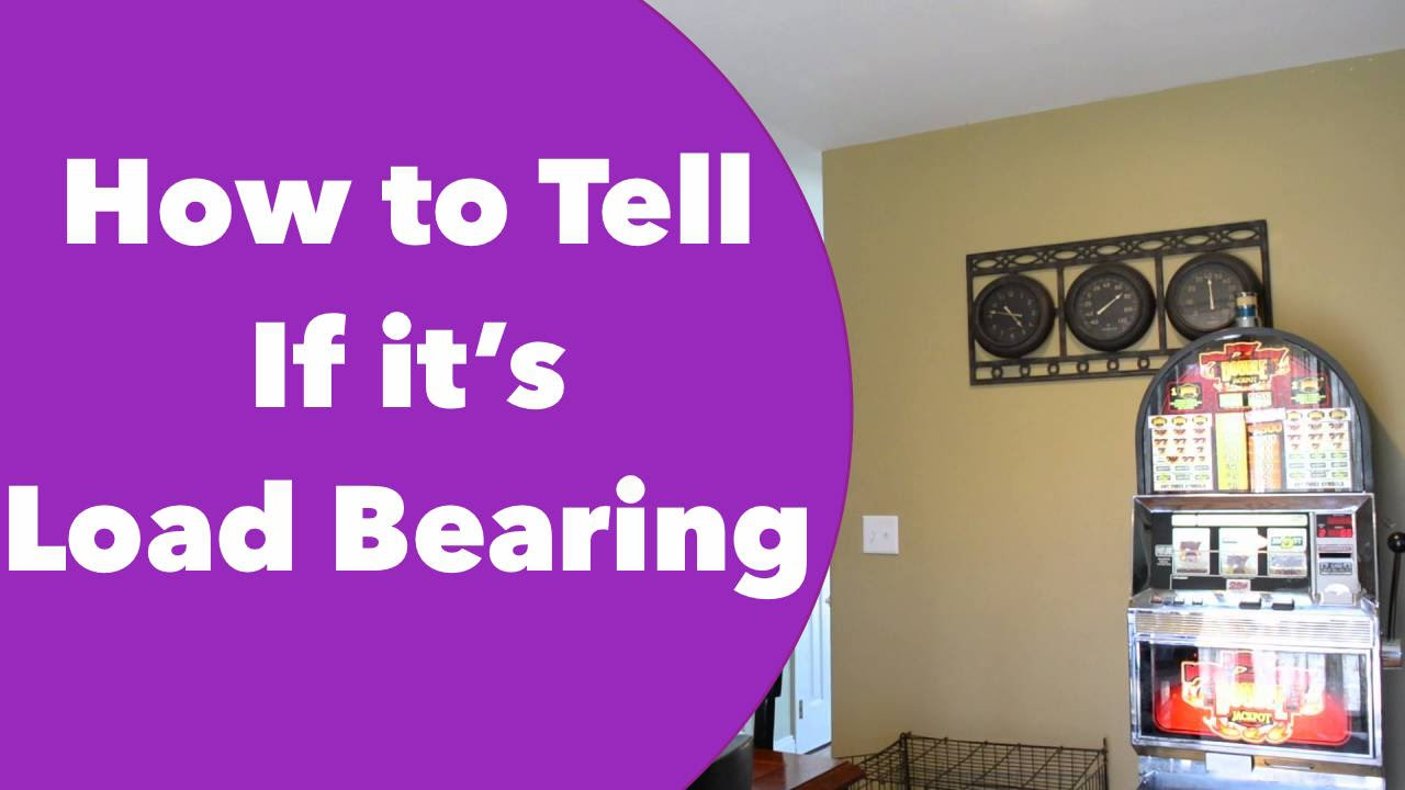 How to determine if a wall is load bearing or not viewer for Can a load bearing wall be removed