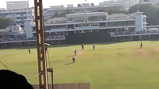 MS Dhoni last match as a Captain. Recorded from stands at Brabourne stadium