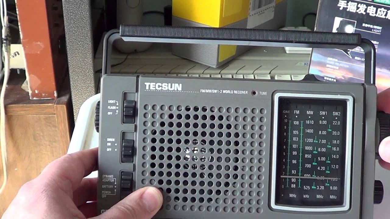 Repeat Tecsun GR168 AM FM Shortwave emergency radio review