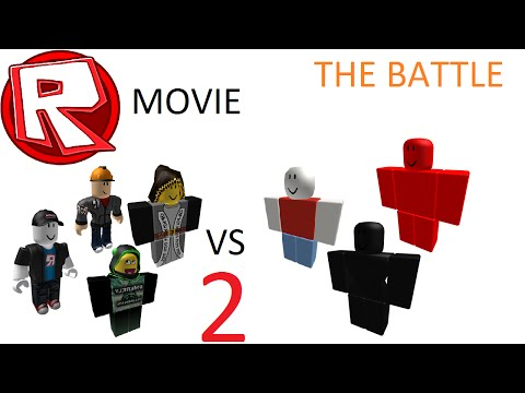 Admins VS Hackers 2 - The Battle - ROBLOX Movie By Roblox Minigunner