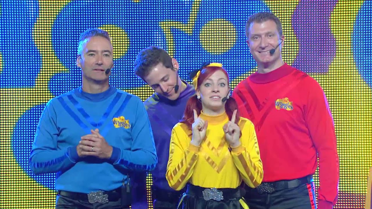 the wiggles - taking off tour announcement
