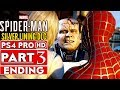 SPIDER-MAN PS4 Silver Lining DLC ENDING Gameplay Walkthrough Part 3  - No Commentary (SPIDERMAN PS4)