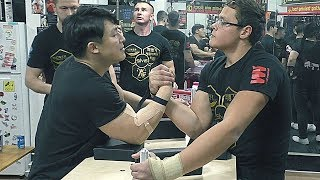 Arm Wrestling In Korea | BEST GYM #팔씨름 #훈련